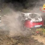 Incendi: auto in fiamme nella notte nel Catanzarese