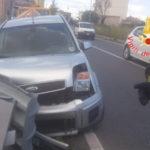 Incidenti stradali: auto contro guardrail nel Catanzarese, un ferito