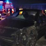 Incidenti stradali: auto fuori strada, un ferito sulla SS 280