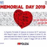 Al via l'edizione 2019 del Memorial Day, Il Sap in 'Cammino'