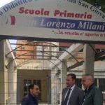 """Villa: Scuole elementare di Pezzo, Siclari: """"Partono i lavori"""""""