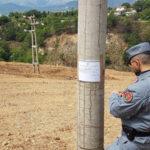 Ambiente: terreno sequestrato a Castrovillari, una denuncia