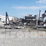 Incendio in un lido nel Crotonese, distrutti bar e cucina