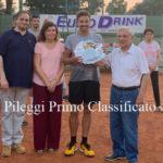 """Tennis: il lametino Pileggi vince il trofeo """"Memorial De Masi"""" 2019"""