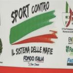 Castrovillari, anche lo sport contro il sistema delle mafie