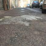 Lamezia: asfalto precario in Via Belvedere, l'appello dei residenti