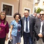Delegazione del Kosovo in visita nel comune di Civita