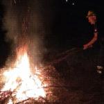 Conflenti: esercitazione antincendio del gruppo protezione civile