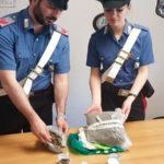 Droga: trovato con cannabis e hashisc 42enne arrestato dai Cc