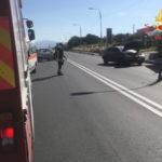 Catanzaro: scontro tra due auto in Viale Crotone, due  feriti