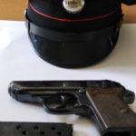 Pistola e munizioni in auto, due arresti nel Vibonese