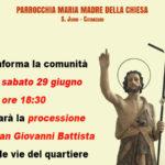 Catanzaro: S. Janni Festa patronale San Giovanni 2019