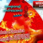 Caldo: Scipione infiamma l'Italia, caldo e afa per tutto il weekend