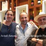 Lamezia: Pistoletto e Yuval Avital in visita alle Cantine Statti