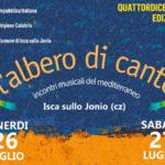 """Isca sullo Jonio, parte la XIV edizione de """"L'Albero di Canto"""""""
