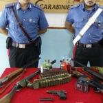 Criminalità: armi e droga in masseria, arrestato nel Crotonese