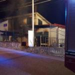 Incendio in un magazzino alle porte di Catanzaro, indagini