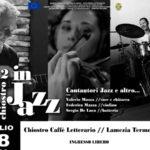 Lamezia: al chiostro caffe' letterario torna la musica jazz