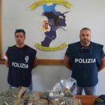 Droga: due arresti e una denuncia a Catanzaro