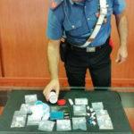 Droga: 38enne cosentino arrestato da Carabinieri con 24 dosi eroina