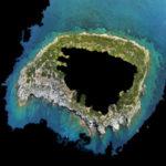 Ambiente: i droni dell'Arpacal sull'isola di Cirella