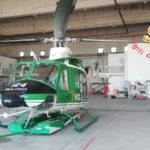 """Lamezia, al Reparto volo Vigili del fuoco pronto l'elicottero """"drago"""""""