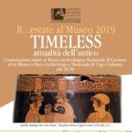 Conversazioni estive al Museo  di Crotone e Capo Colonna