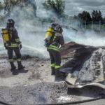 Lamezia: in fiamme rifiuti e sterpaglie in località Frasso Bragò