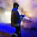 Auto in fiamme nella notte a Maierato, indagini dei Carabinieri