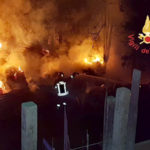 Catanzaro: incendio nella notte  in un cantiere in località Germaneto
