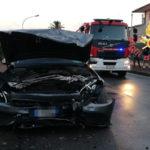 Lamezia: incidente stradale in Via dei Bizantini, due feriti