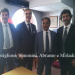 Catanzaro: Abramo incontra amministratore delegato Anas Simonini