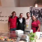 Lamezia: il Vescovo Schillaci visita Il Chiostro Caffè Letterario