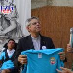 Lamezia: Mons. Giuseppe Schillaci in visita al campo estivo Unitalsi