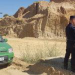 Carabinieri sequestrano cava a Corigliano Rossano