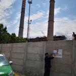 Opera difforme da progetto, sequestrato muro centrale Enel Rossano