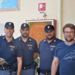 Testuggine trovata dalla Polizia per le vie di Crotone