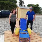 Tebisacce: attiva la spiaggia attrezzata per diversamente abili