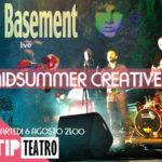 """Lamezia: festa di mezzaestate con i """"The Basement"""" al Tip teatro"""