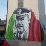 Girifalco: murales raffigurante il generale Carlo Alberto Dalla Chiesa