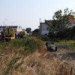Incidenti: scontro tra due autovetture a Catanzaro, due feriti