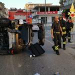 Incidenti stradali: scontro tra due autovetture nel Catanzarese, due feriti