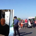 Incidente statale 106, 83enne muore dopo un mese di agonia