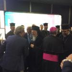 Il Patriarca di Costantinopoli giunto all'aeroporto di Lamezia Terme
