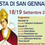 Festeggiamenti in onore di San Gennaro a San Mazzeo