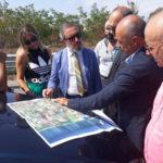 Progetto Waterfront e Porto Turistico:sopralluogo con Anas