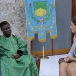 Cosenza: l'ambasciatore del Senegal, in visita a Palazzo dei Bruzi