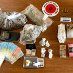 Armi e droga, tre arresti dei Carabinieri a Reggio Calabria