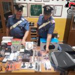 Rubano in un negozio a Catanzaro, arrestati due giovani