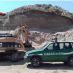 Ambiente: cava abusiva a Sersale, denunciata impresa